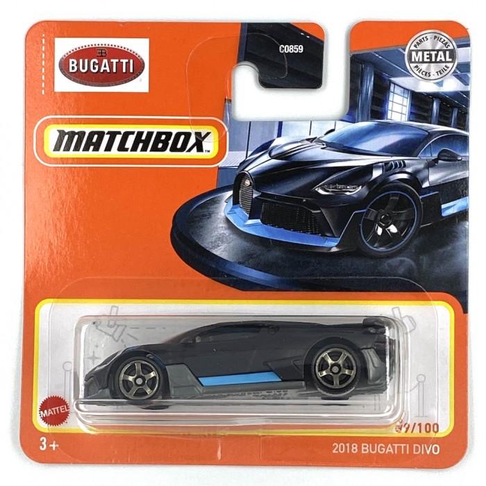 Matchbox 1:64 2018 Bugatti Divo
