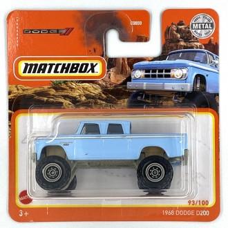 Matchbox 1:64 1968 Dodge D200
