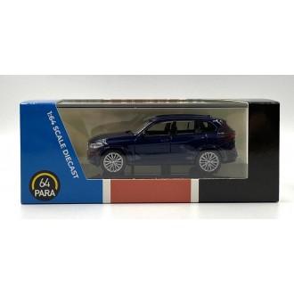 Para64 1:64 BMW X5 Blue LHD