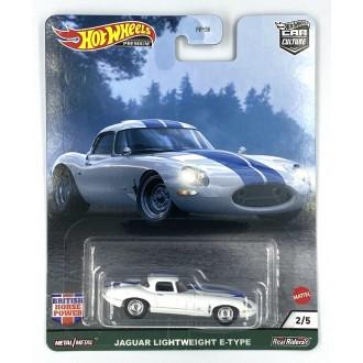Hot Wheels 1:64 British Horse Power - Jaguar Lightweight E-Type