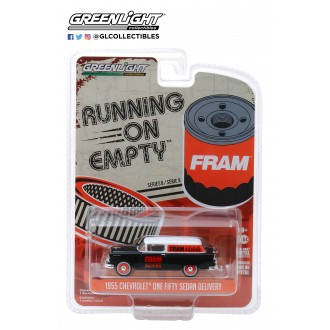 Greenlight 1:64 Running On Empty - 1955 Chevrolet One Fifty Sedan Delivery