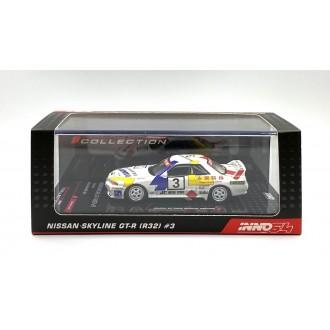 Inno64 1:64 Nissan Skyline GT-R R32 HKS Racing Macau GP