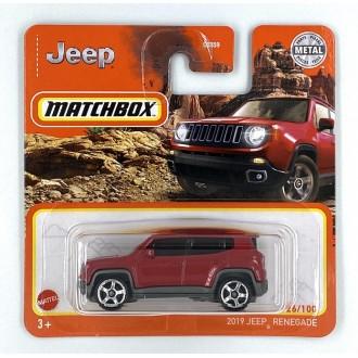 Matchbox 1:64 2019 Jeep Renegade
