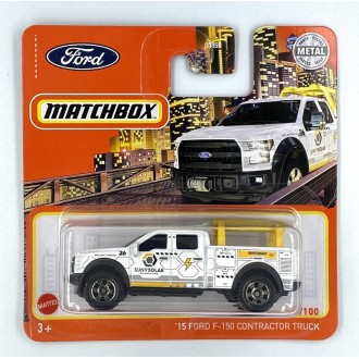 Matchbox 1:64 2015 Ford F-150 Contractor Truck