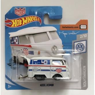 Hot Wheels 1:64 Volkswagen Kool Kombi White