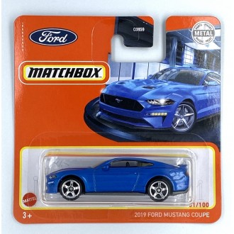 Matchbox 1:64 2019 Ford Mustang Coupe