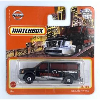 Matchbox 1:64 Nissan NV Van Black
