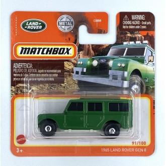 Matchbox 1:64 1965 Land Rover Gen III