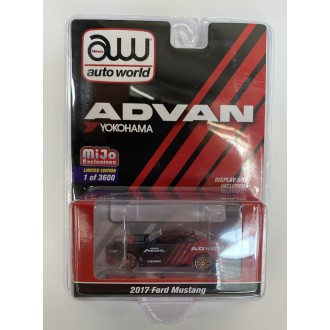Auto World 1:64 2017 Ford Mustang Advan