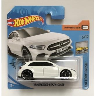 Hot Wheels 1:64 '19 Mercedes-Benz A-Class White