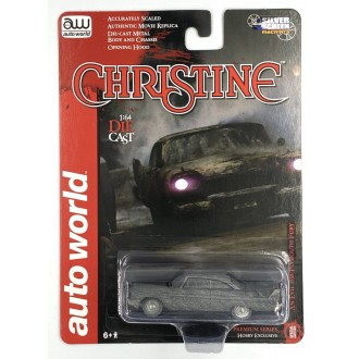 Auto World 1:64 1958 Plymouth Fury Christine After Fire