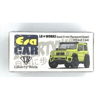 Era Car 1:64 2019 Suzuki G Mini SP Lb Works Green