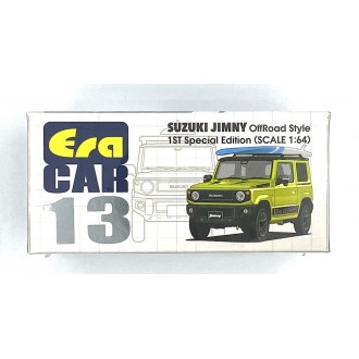 Era Car 1:64 2018 Suzuki Jimny 1st Edition Green With Surfboards