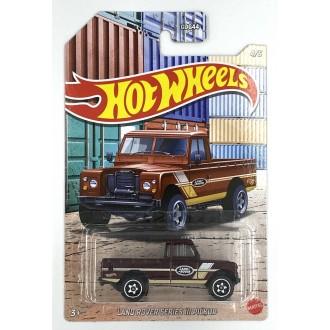 Hot Wheels 1:64 Pick-Up Series - Land Rover Series III Pickup
