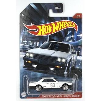 Hot Wheels 1:64 Automotive Themed - Nissan Skyline 2000 Turbo RS (KDR30)