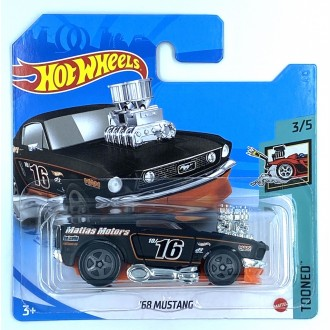 Hot Wheels 1:64 1968 Ford Mustang Tooned