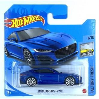 Hot Wheels 1:64 2020 Jaguar F-Type Blue