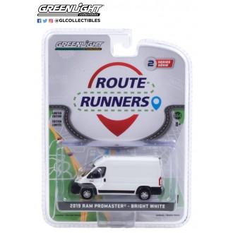 Greenlight 1:64 Route Runners - 2019 Dodge Ram Promaster Bright White