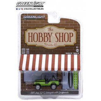 Greenlight 1:64 The Hobby Shop - 1971 Jeep CJ-5 Renegade