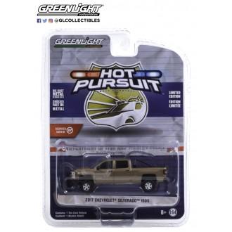 Greenlight 1:64 Hot Pursuit - 2017 Chevrolet Silverado 1500
