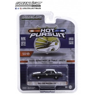 Greenlight 1:64 Hot Pursuit - 1982 Ford Mustang SSP