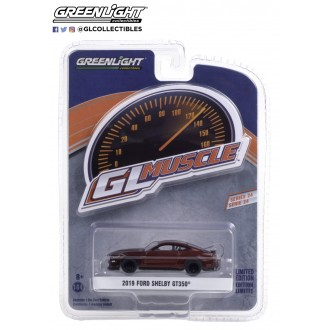 Greenlight 1:64 GL Muscle - 2019 Ford Mustang Shelby GT350
