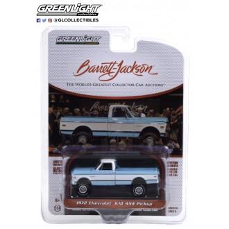 Greenlight 1:64 Barrett Jackson - 1972 Chevrolet K10 4x4 Pickup