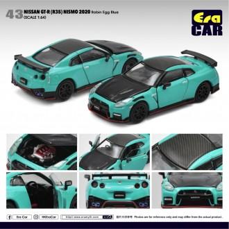 Era Car 1:64 Nissan GT-R R35 Nismo 2020 Robin Egg Blue