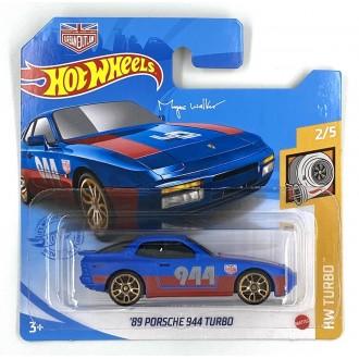 Hot Wheels 1:64 1989 Porsche 944 Turbo Magnus Walker Blue