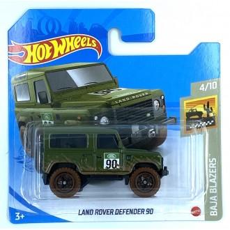 Hot Wheels 1:64 Land Rover Defender 90 Mud Blue