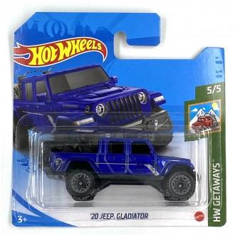 Hot Wheels 1:64 '20 Jeep Gladiator Blue