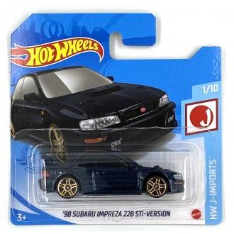 Hot Wheels 1:64 '98 Subaru Impreza 22B STi - Version