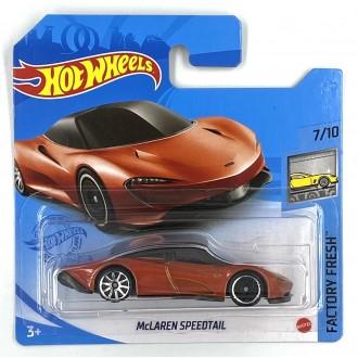Hot Wheels 1:64 McLaren Speedtail Orange