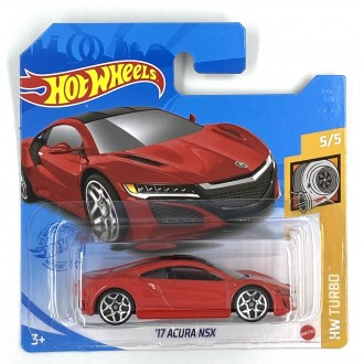 Hot Wheels 1:64 '17 Acura NSX Red
