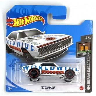 Hot Wheels 1:64 1967 Camaro White