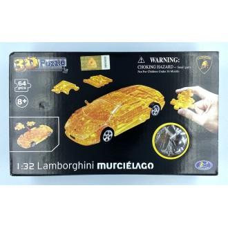 Happy Well 1:32 Puzzle 3D - Lamborghini Murcielago Orange
