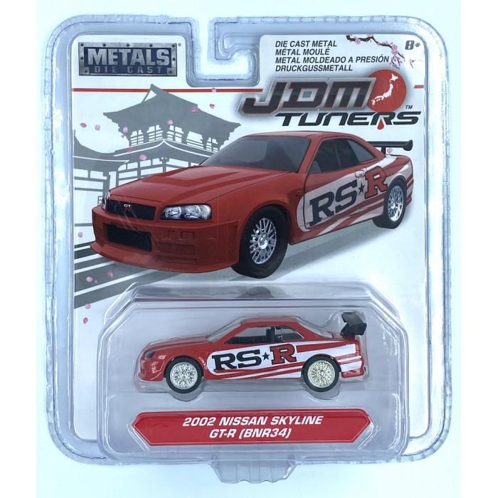 Jada 1:64 JDM Tuners - 2002 Nissan Skyline GT-R BNR34