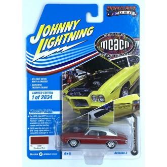 Johnny Lightning 1:64 Muscle Cars U.S.A. - 1972 Pontiac GTO Cardinal Red