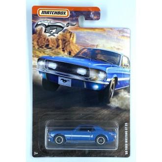 Matchbox 1:64 Mustang Series - 1968 Ford Mustang GT CS