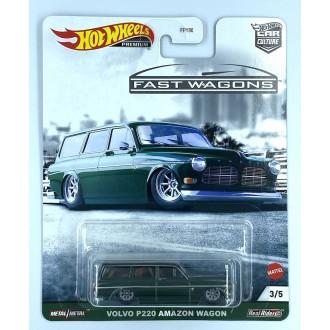 Hot Wheels 1:64 Fast Wagons - Volvo P220 Amazon Wagon