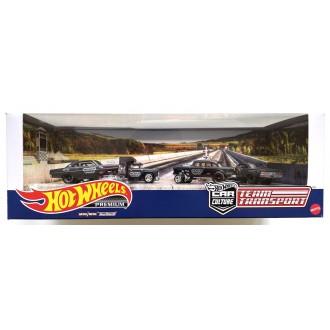 Hot Wheels 1:64 Premium Set - Black Hole Gassers no.3 Diorama