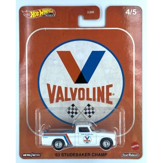 Hot Wheels 1:64 Pop Culture - Vintage Oil - 1963 Studebaker Champ Valvoline