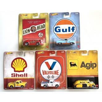 Hot Wheels 1:64 Pop Culture - Vintage Oil - Set 5 szt.