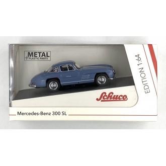 Schuco 1:64 Mercedes-Benz 300 SL Blue