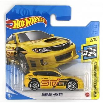 Hot Wheels 1:64 Subaru WRX STI Yellow