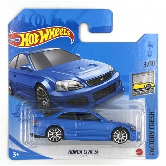 Hot Wheels 1:64 Honda Civic Si Blue