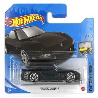 Hot Wheels 1:64 1995 Mazda RX-7 Black