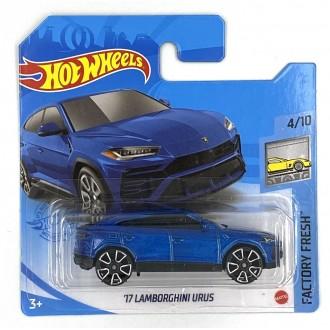 Hot Wheels 1:64 '17 Lamborghini Urus Blue
