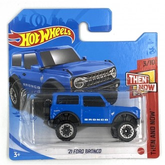 Hot Wheels 1:64 2021 Ford Bronco