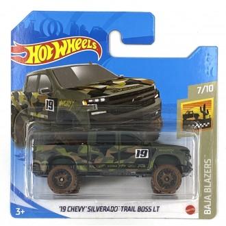 Hot Wheels 1:64 '19 Chevy Silverado Trail Boss LT Moro